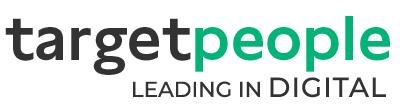Logo targetpeople mit Claim